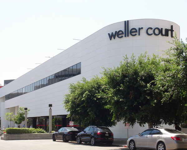 The brick and mortar store is located in Weller Court