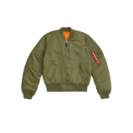 Alpha Industries MA-1 Slim Fit / European Fit Sage Green