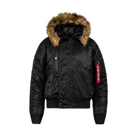 Alpha Industries N-2b Short Waist Parka Black