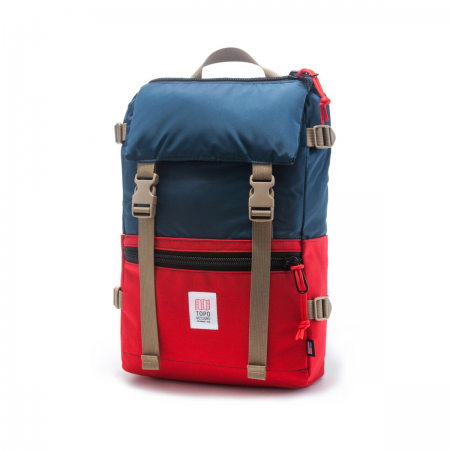 TOPO DESIGNS ROVER PACK Navy / Red