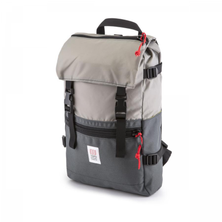TOPO DESIGNS Rover Pack Silver / Charcoal