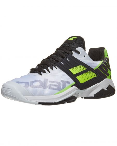 Babolat PROPULSE FURY ALL COURT MEN White/Fluo Aero Tennis Shoes