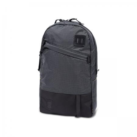 TOPO DESIGNS Daypack Black / White Ripstop