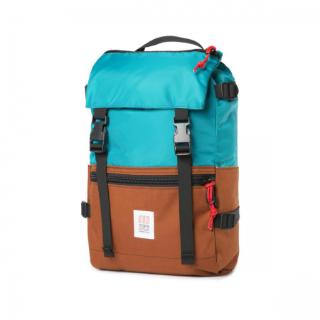 TOPO DESIGNS Rover Pack Turquoise / Clay